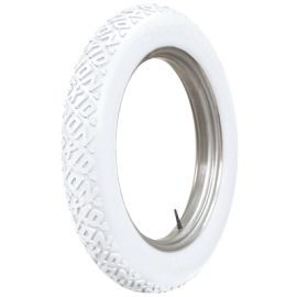 30x3 1/2 76 Firestone Non Skid White
