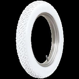 30x3 1/2 76 Firestone Non Skid White